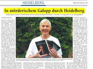 In mörderischem Galopp durch Heidelberg